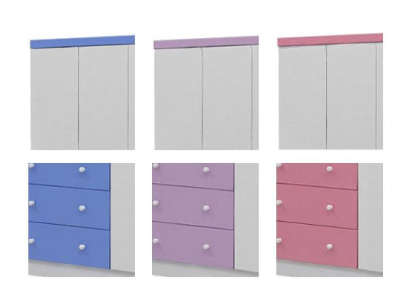 armario bolinha 4pts - opções